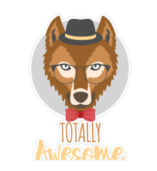 Totally Awesome Wolf