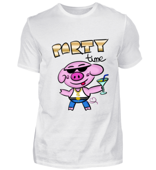 Party Schwein Party Time