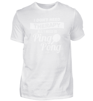 Table Tennis Player Gift
