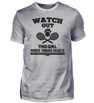 Tennis ball tennis racket Girl