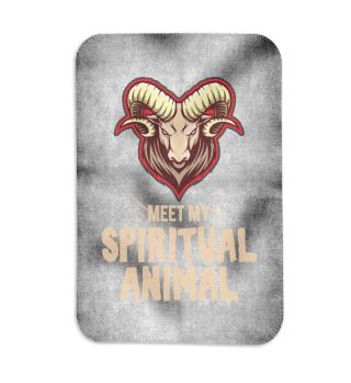 Meet my spiritual Animal Goat
