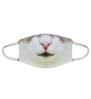 Gesichtsmaske mit Katzenmotiv 20.41