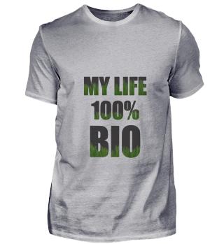 Økologisk organisk liv 100% gave
