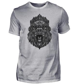 Mandala Gorilla Affe Schimpanse
