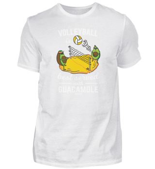 Vegan Avocado Beachvolleyball Sport