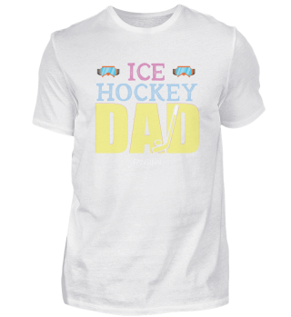 Hockey Sport father Team puck Gift Gate