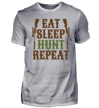 Jagen Schlafen Essen