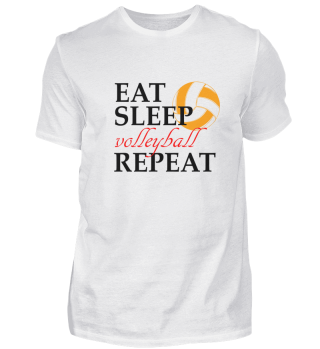 Eat Sleep volleyball Repeat