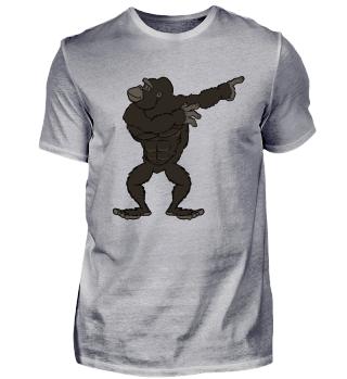 Gorilla T-Shirt: Gorilla Pose