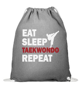 Eat Sleep Taekwondo Repeat