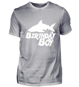 Shark birthday boy - Funny Birthday Gift