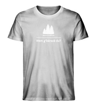 Wem g'härsch du? #3   Shirt - Herren   Black