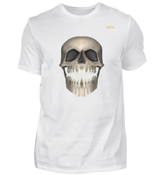 My laughing skull T-shirt - Lewup