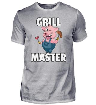 BBQ Grill Grill Grill Master Pig