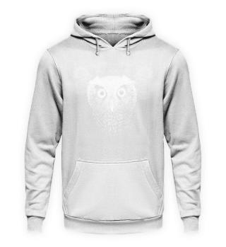Eule Zeichnung Big Eyes Owl Art Gift