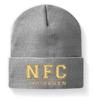 NFC Thaiboxen Mütze mit Stick