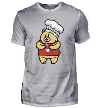Teddy kleiner Koch mit Herz
