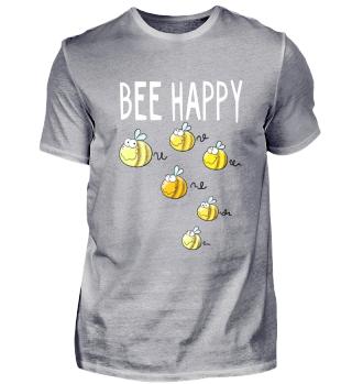 Bee Happy Bienen I Biene I Imker