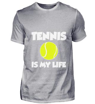 Tennis Shirt Tennisball Player Gift
