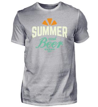 Summer beer sun beach holiday gift