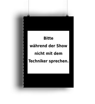 Warnhinweis Techniker - lustig - VII