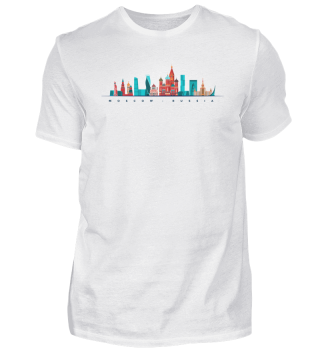 MOSCOW SKYLINE - Funny Russian Gift