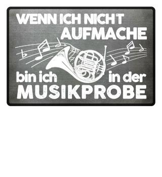 Fußmatte - Horn Musikprobe