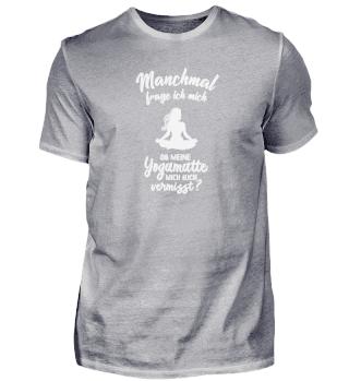 Geschenk Meditation: Ob Yoga mich vermis