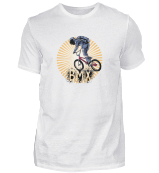 Astronaut Riding BMX Bike