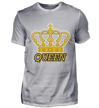 Queen Krone Gold Hoheit Schatz