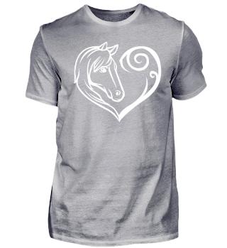 Pferd Liebe Reiten Herz