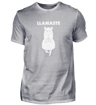 LLamaste Yoga Alpaca Lama Namaste
