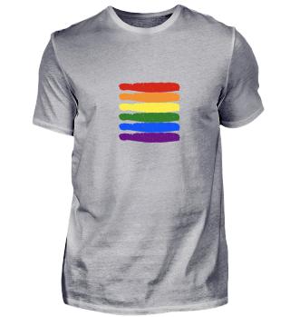 Schwul Gay Flagge Regenbogen