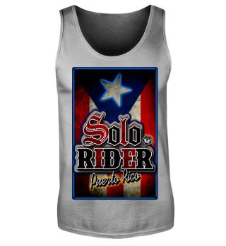 Herren Tank Top Solo Rider Ramirez