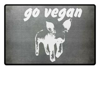 go vegan, Schwein