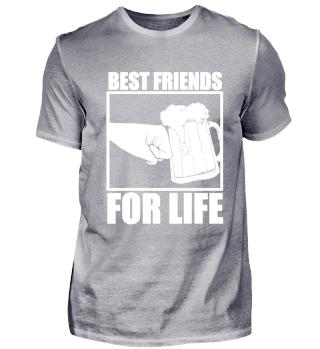 Beste Freunde Bier Bierkrug Geschenk