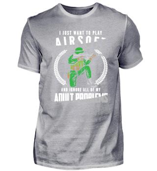 Airsoft Spieler Immer Geschenkidee