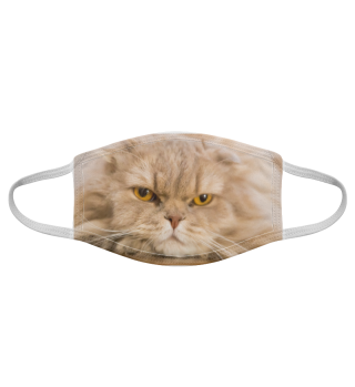 Gesichtsmaske mit Katzenmotiv 20.6