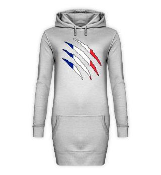 Frankreich Flagge WM Hoodie Geschenk