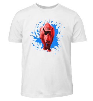 Rotes Nashorn - Kinder