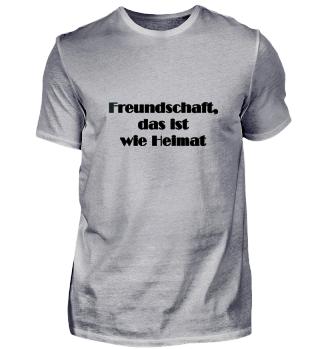 Kollektion Freundschaft schwarze Schrift