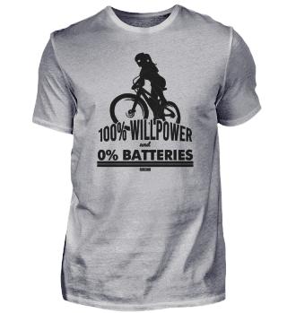 Girls mountain bike racer