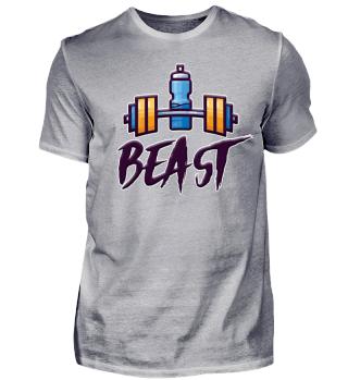 Vater Bodybuilding Fitness Beast Shirt