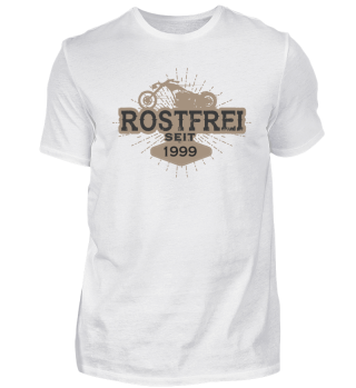 Rostfrei seit 1999 Motorrad