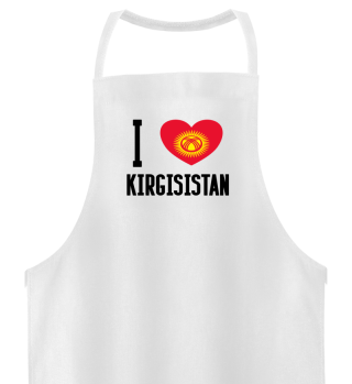 I LOVE KIRGISISTAN - Funny Russian Gift