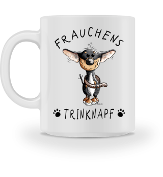 Frauchens Trinknapf Chihuahua Tasse