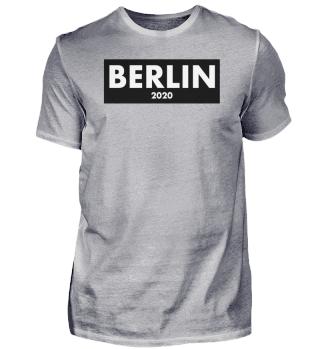 Berlin 2020 shirt - black and white gift