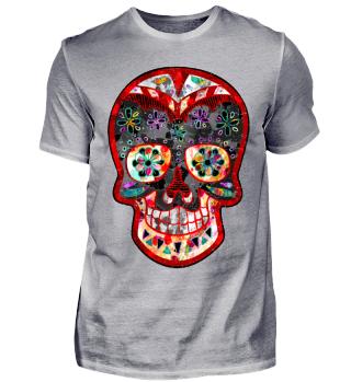 Funny Mexican Sugar Skull bunt