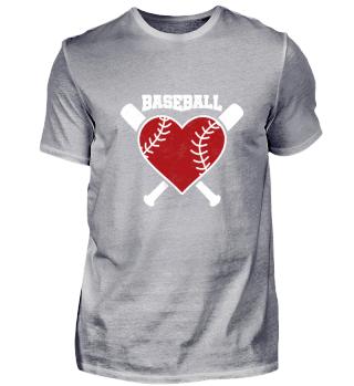 Valentinstag Baseball T-Shirt