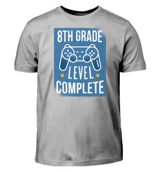 8th Grade - Level Complete